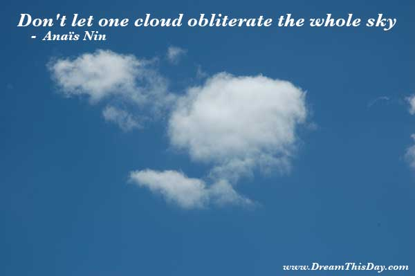 Cloud Quote Of The Day Inspiration Cloud Quotes