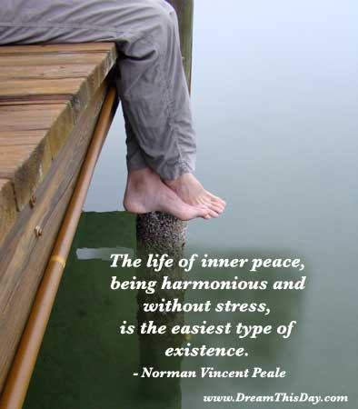 Peace Quote Of The Day Custom Life Stress Quotes